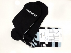 Чорапи Athletic Checked Stripe Sock